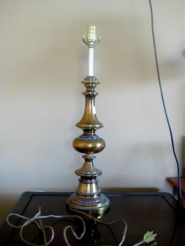 Lamp Before