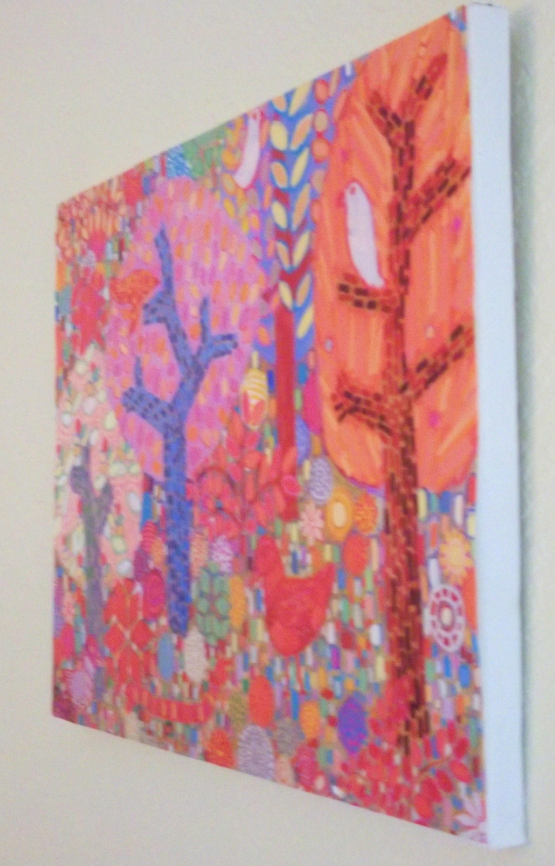 DIY Transform a Print into Painting - Mounting Prints on ...