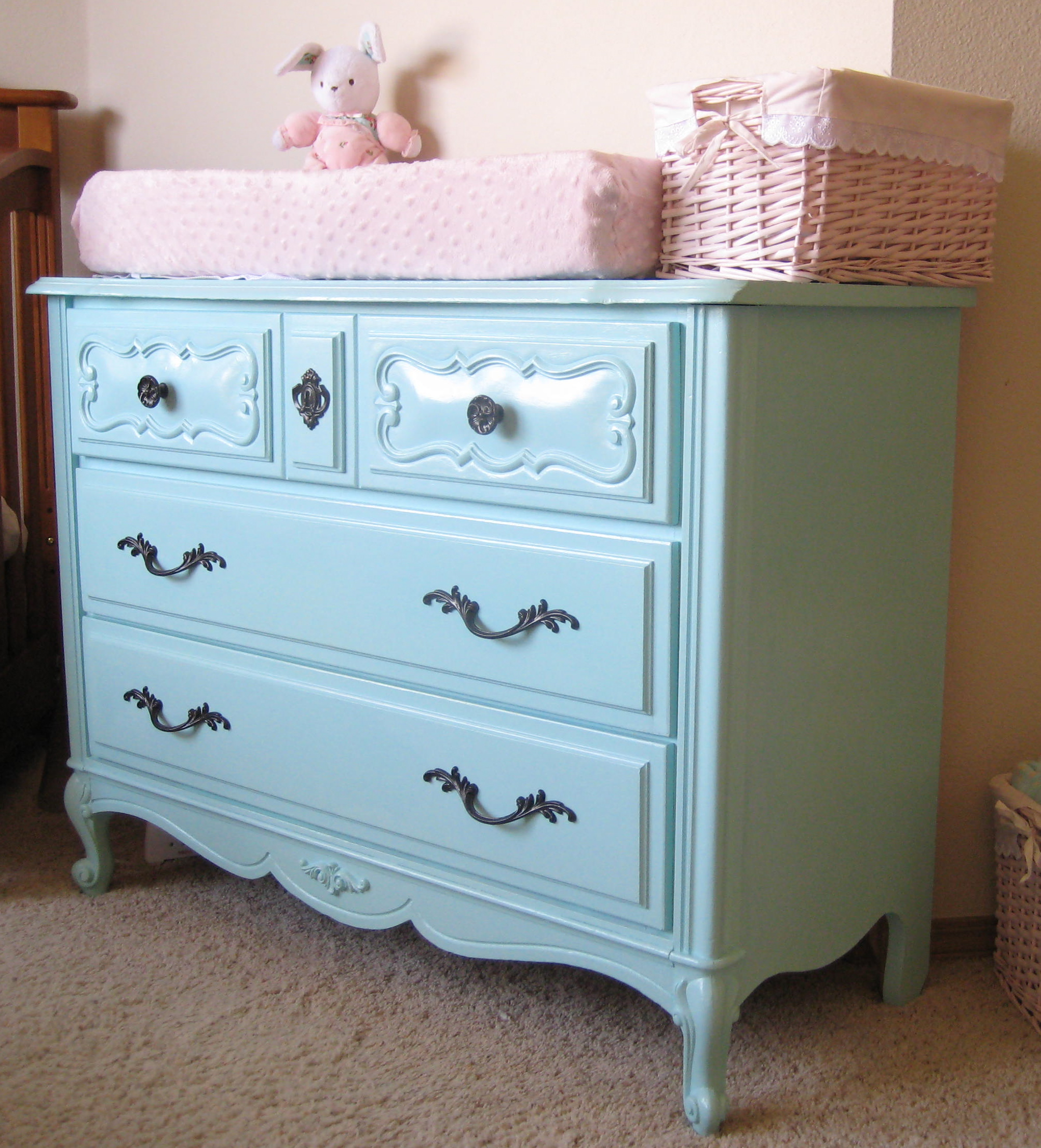 French Provincial Dresser Before And After Room To Think