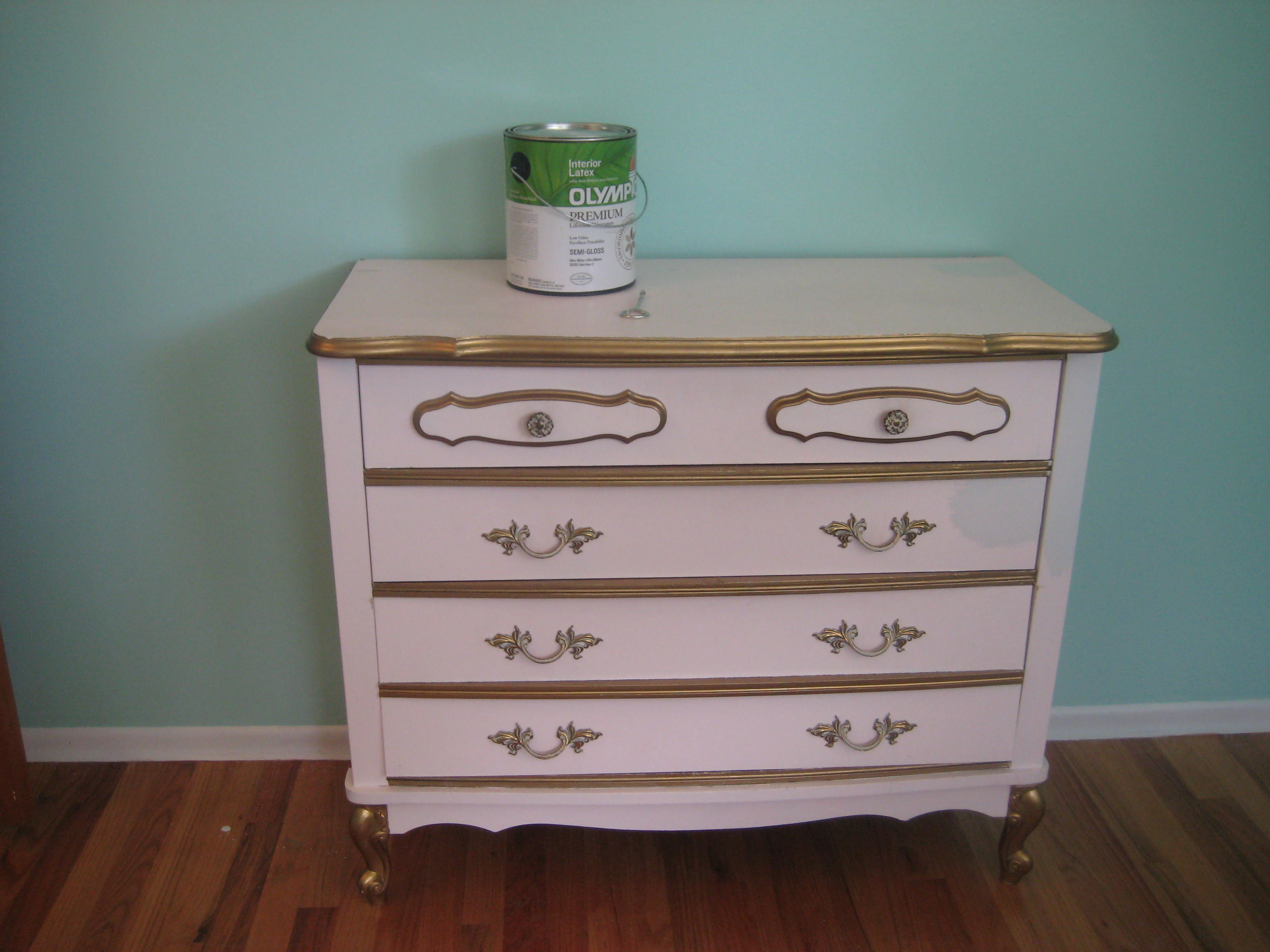 Mouse + Hinge: Madelyn's Dresser - French Provincial Dresser, Take II