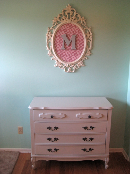 French Provincial Dresser and Ikea Ung Drill