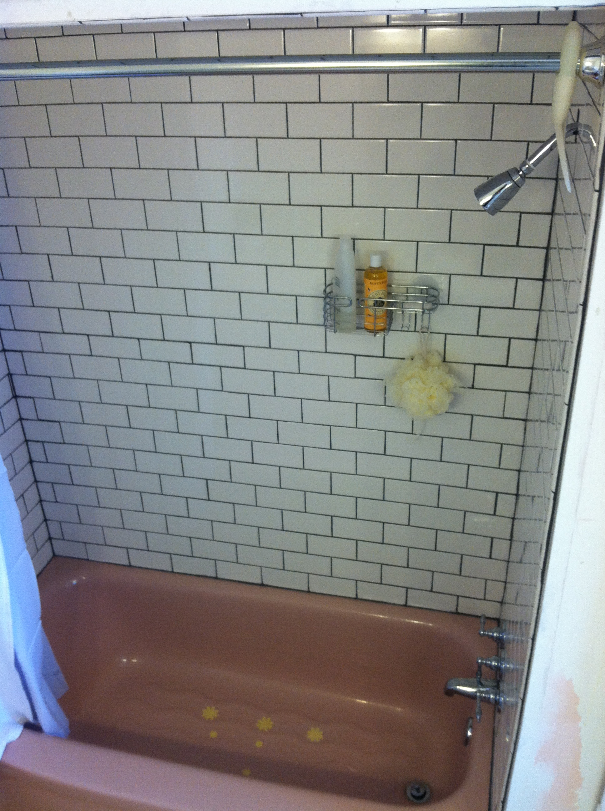 White subway tub surround complete room to think white subway tile dailygadgetfo Gallery